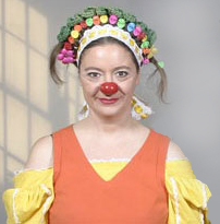 Kathie Horejsi, stage clown